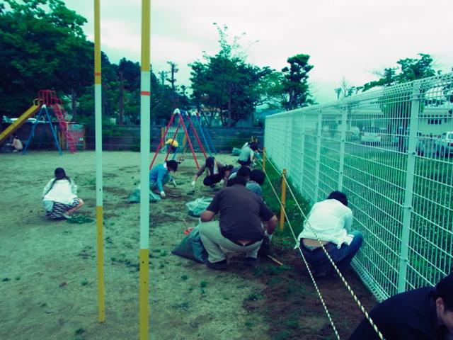 6月の月命日を福島の幼稚園で