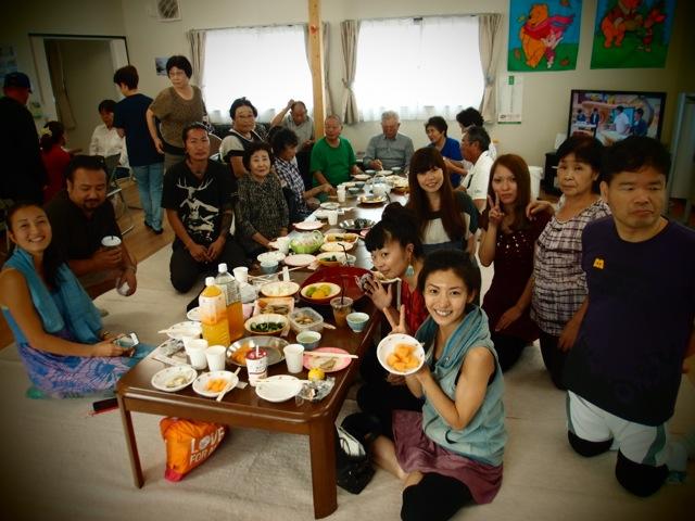 9月11日の月命日を福島の仮設住宅で
