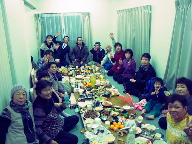 2013,12/25福島でクリスマス会