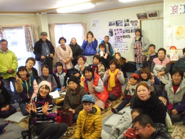 2014 1月11日月命日を福島の仮設で