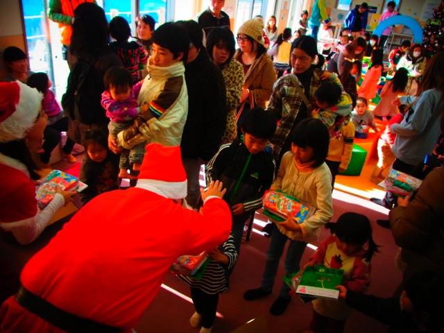 2014 クリスマスに福島の子供達とともに