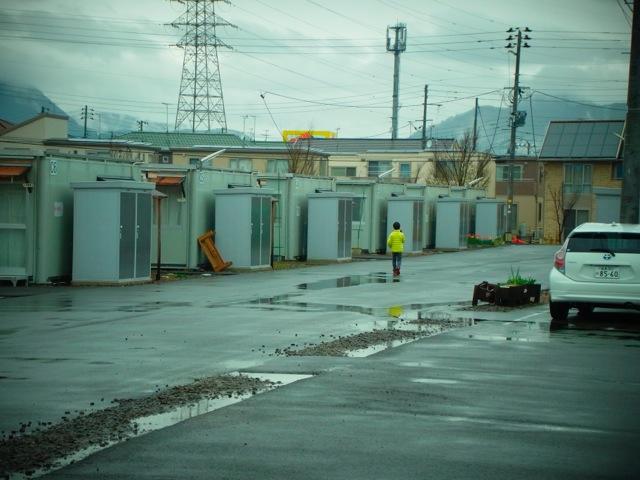 2015,4月の月命日を福島の仮設住宅で