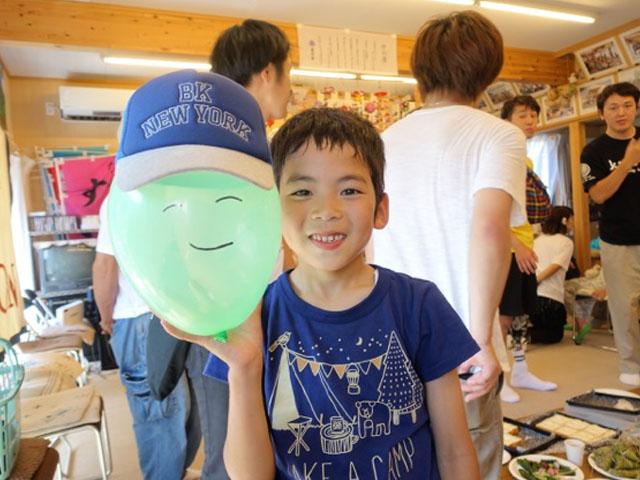6月の月命日を福島県楢葉町の皆さんが暮す仮設住宅で