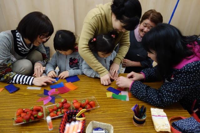 ラブフォーニッポン現地活動4月の月命日を復興住宅にて
