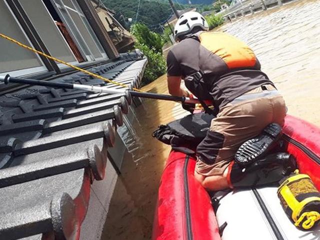 九州豪雨災害支援〈 現地活動報告 1 〉